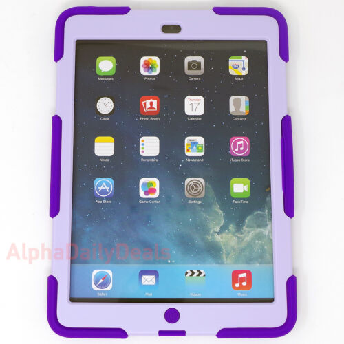 Griffin Survivor All-Terrain GB364062 Protective Cover for 9.7 iPad Air Lavender