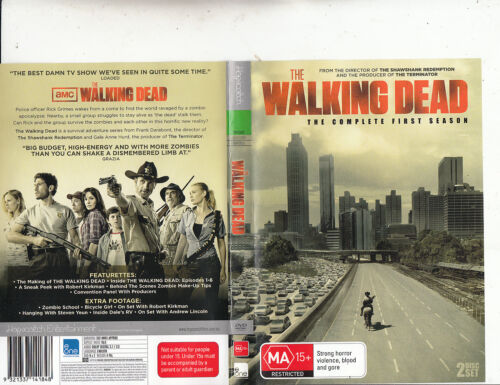 The Walking Dead-2010-TV Series USA-[The Complete First Series-2 Disc Set]-2 DVD