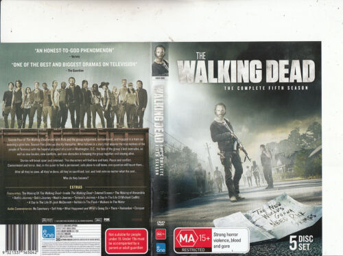 The Walking Dead-2010-TV Series USA-[The Complete Fifth Series-5 Disc Set]-5 DVD