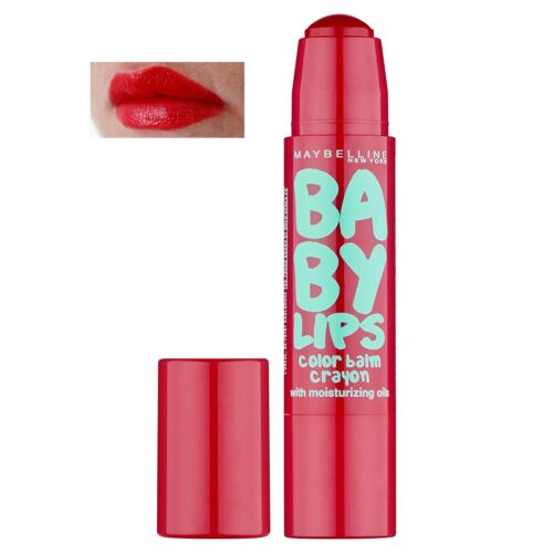 MAYBELLINE Baby Lips Balm Crayon (5 Candy Red) NEU&OVP
