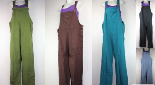 Playsuit Dungaree Baggy Jumpsuit Hippy Harem Pant Overall Strap Cargo Ethnic RP3