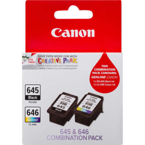 Canon PG645 CL646 Genuine Ink MG2560 MG2460 MG2960 MG2965 MG3060 - EXPRESS $2