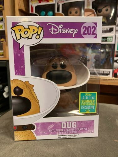 Up Dug with Cone SDCC 2016 Exclusive Pop Vinyl Figure EXPERT PACKAGING