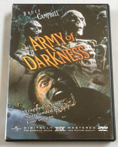 ARMY OF DARKNESS SPECIAL EDITION DVD (REGION 1) - AS NEW