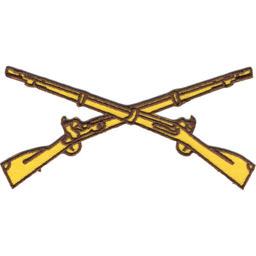 Army Infantry Crossed Rifles Patch