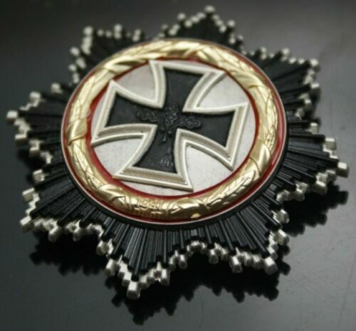 WWII WW2 German Army Officer Admiral Knight Iron Cross Metal Medal Order BadgeGermany - 156432