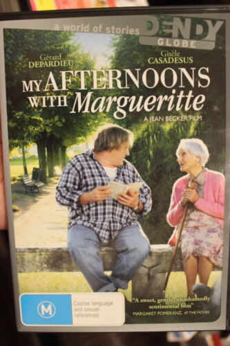 MY AFTERNOONS WITH MARGUERITTE RARE DELETED DVD FRENCH GERARD DEPARDIEU FILM