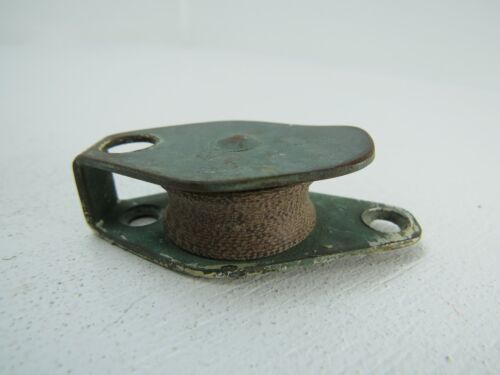 BRONZE BRASS FIBER WHEEL DECK PULLEY BLOCK BOAT SHIP TACKLE (#158)