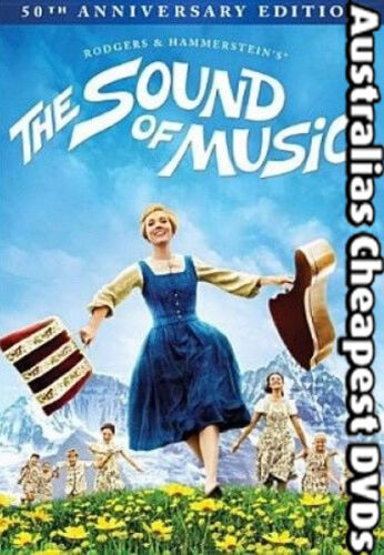 The Sound Of Music DVD NEW, FREE POSTAGE WITHIN AUSTRALIA REGION ALL