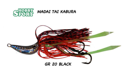 MADAI TAI  KABURA LIGHT   20 GR TRABUCCO  - COLORE  BLACK