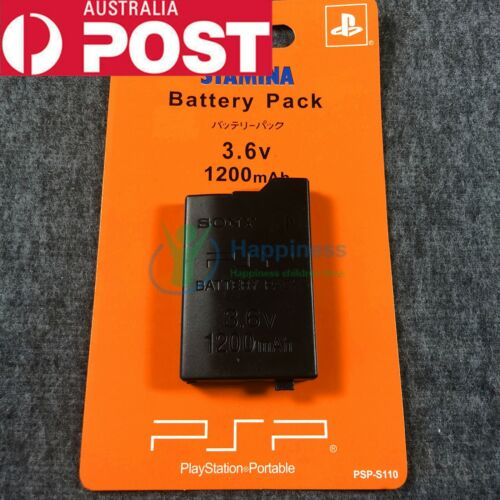 New Rechargable Battery Pack for Sony PSP2000 & 3000 3.6V 1200mAh <br/> Continued sales in Melbourne 4 years &Sent the same day