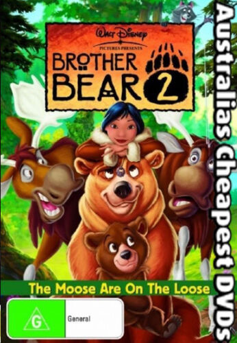 Brother Bear 02  DVD NEW, FREE POSTAGE WITHIN AUSTRALIA REGION 4