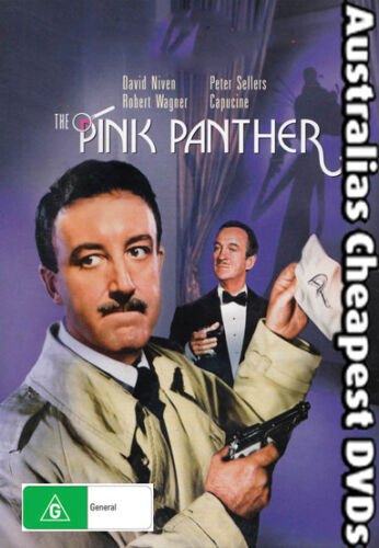 The Pink Panther DVD NEW, FREE POSTAGE WITHIN AUSTRALIA REGION ALL