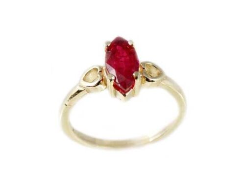 """19thC Antique 1ct Ruby Ancient Hebrew Israel Biblical """"Lord of Gems"""" Amulet Ring"""