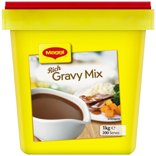 1kg Maggi Rich Gravy Mix Classic Best Before 30 AUG 2021 Secure Packaging  <br/> Limited Time Special