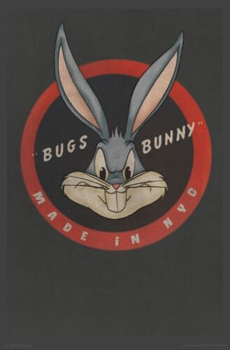 BUGS BUNNY - MADE IN NYC POSTER - 22x34 LOONEY TUNES 16458