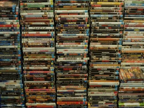DVD Bulk Lot 3 Choose Your Title Every Disc $3.79 Assorted Titles/Genres CHEAP