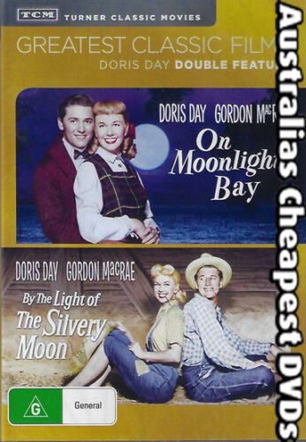 On Moonlight Bay / By The Light Bay  DVD NEW, FREE POSTAGE WITHIN AUST REG ALL