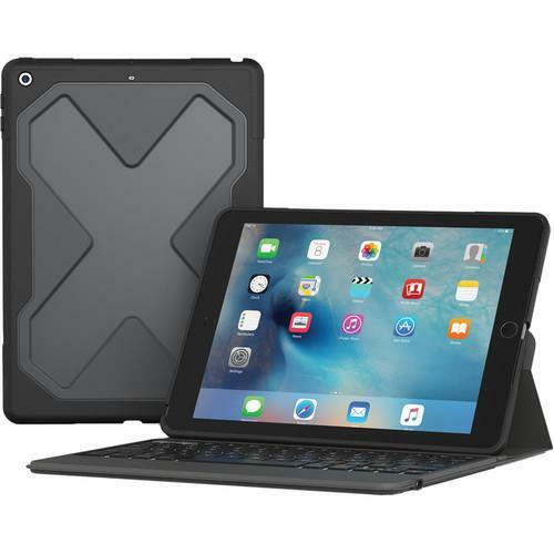 ZAGG Rugged Messenger Keyboard Case for iPad 9.7""