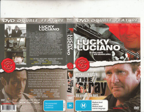 Lucky Luciano-1973-Rod Steiger/The Stray-[2 Movies]-Movie-DVD