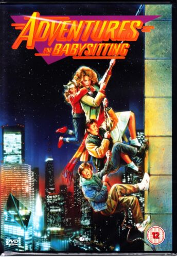 ADVENTURES IN BABYSITTING (1987) DVD ELIZABETH SHUE Region 4 (AUS) New & Sealed