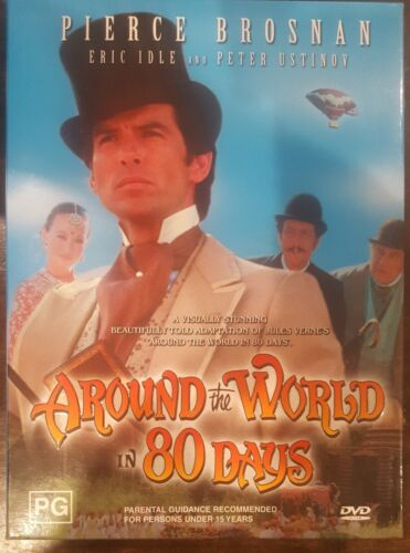 AROUND THE WORLD IN 80 DAYS RARE OOP DVD BOX SET PIERCE BROSNAN COMPLETE SERIES