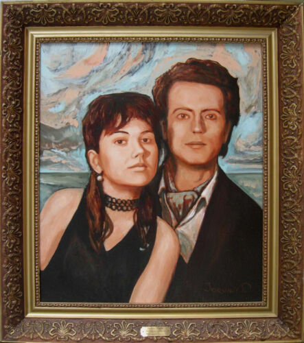 CUSTOM OIL PAINTING PORTRAIT CANVAS FROM YOUR PHOTO Commission Child Wedding