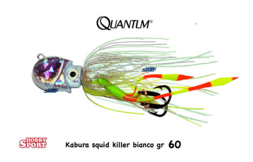 KABURA QUANTUM SQUID KILLER 60 GR BIANCO