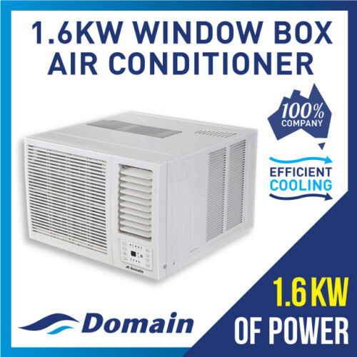 NEW DOMAIN 1.6KW WINDOW WALL BOX REFRIGERATED COOLING AIR CONDITIONER <br/> BONUS 12% OFF AUTO APPLIED AT CHECKOUT - BE QUICK