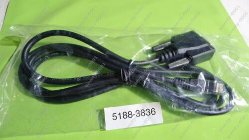 New and Genuine HP 5188-3836 1.5 Meter DB9 to RJ45 console cable