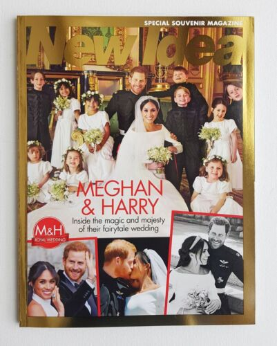 M&H Royal Wedding - Meghan & Prince Harry New Idea Special Souvenir Magazine