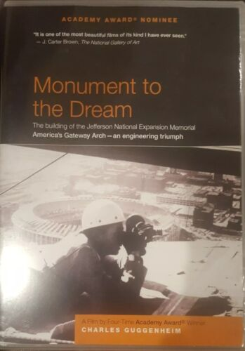 MONUMENT TO THE DREAM RARE DVD AMERICA'S GATEWAY DOCUMENTARY JEFFERSON ARCH OOP