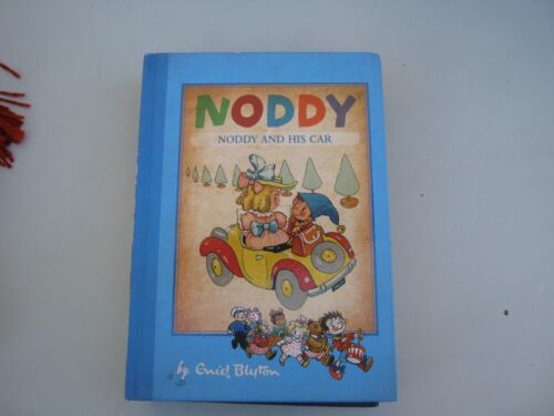 noddy book by enid blyton noddy and his car hard cover