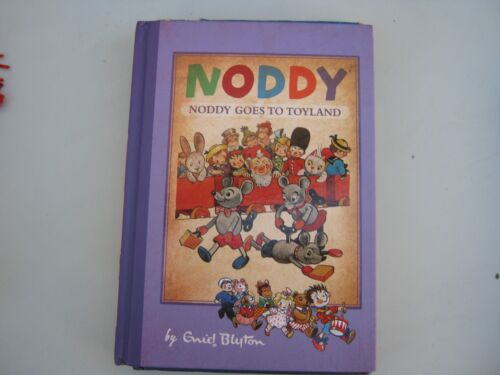 noddy book by enid blyton noddy goes to toyland hard cover