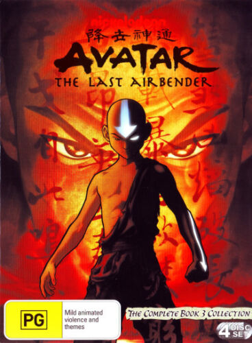 Avatar The Last Airbender The Complete Book 3 Collection (4 DVD) NEW REGION 4 AU