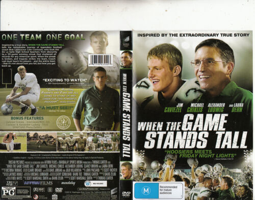When The Game Stands Tall-2014-Jim Caviezel-Movie-DVD