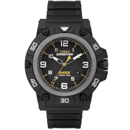 Timex TW4B01000, Men's Expedition Watch, Shock Resistant, Indiglo, Date