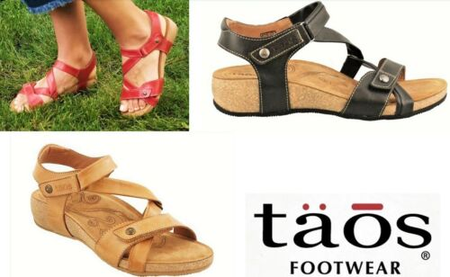 Taos Footwear Comfort Leather adjustable Sandals Taos Shoes Universe 4 colours