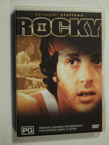 Rocky II + Rocky III 2 Disc Set DVD (2 & 3) Feat Sylvester Stallone GOOD COND