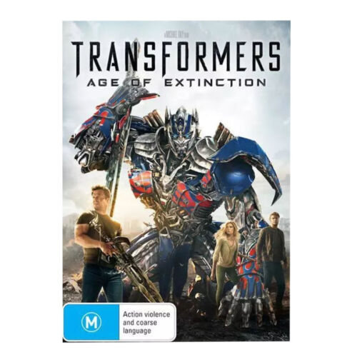 TRANSFORMERS - Age of Extinction DVD 2014 Region 4 Brand New and Sealed