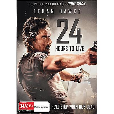 24 HOURS TO LIVE DVD, NEW & SEALED, 2018 RELEASE, REGION 4, FREE POST