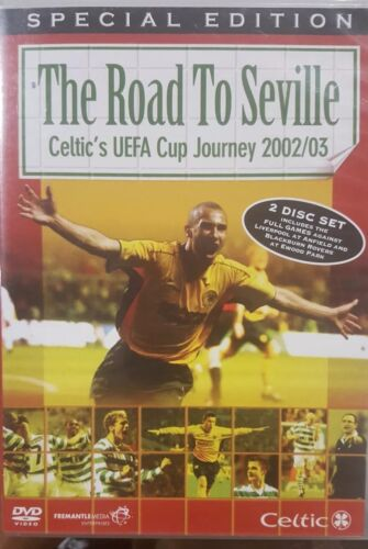 THE ROAD TO SEVILLE CELTIC'S UEFA CUP JOURNEY 2002/03 RARE EUROPEAN FOOTBALL DVD