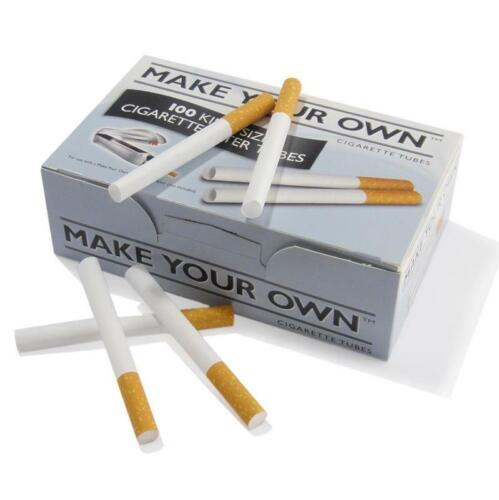 1000 MAKE YOUR OWN BY RIZLA CIGARETTE KING SIZE FILTER TUBES THE NEW CONCEPT