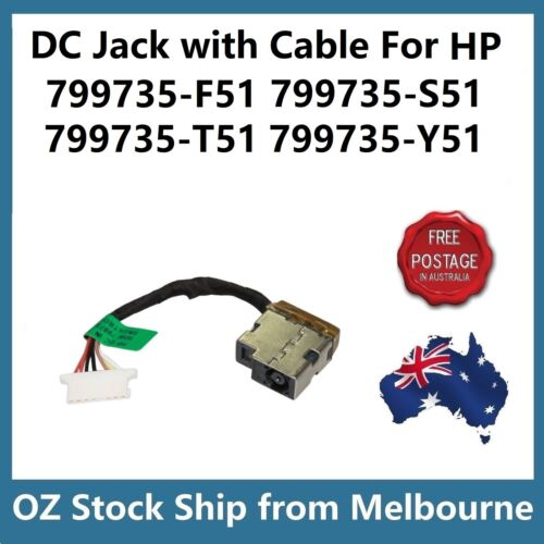 DC Power Jack For HP 799735-F51 799735-S51 799735-T51 799735-Y51 807522-001
