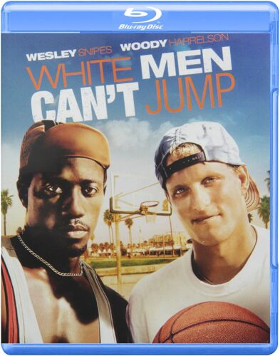 WHITE MEN CANT JUMP BLU RAY BRAND NEW & SEALED!  WESLEY SNIPES WOODY HARRELSON