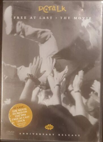 DC TALK FREE AT LAST THE MOVIE ANNIVERSARY RELEASE RARE DVD MUSIC TOUR CONCERT