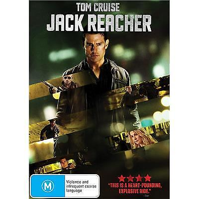 JACK REACHER DVD, NEW & SEALED, REGION 4, FREE POST