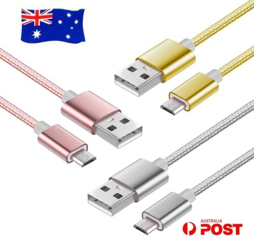 Colourful 2M USB Micro USB Sync Charge Cable For Telstra 4GX Buzz Evolution T80