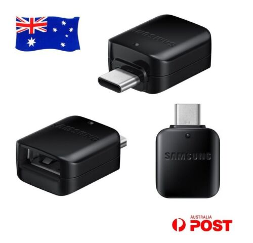 Genuine Samsung Galaxy Note 8 S9 S8 Plus C9 Pro USB Type-C OTG Connector Adapter