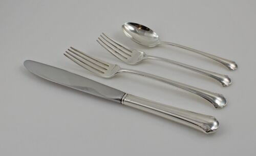 Towle Chippendale Sterling Silver 4 Piece Place Setting - Dinner Size - No Mono